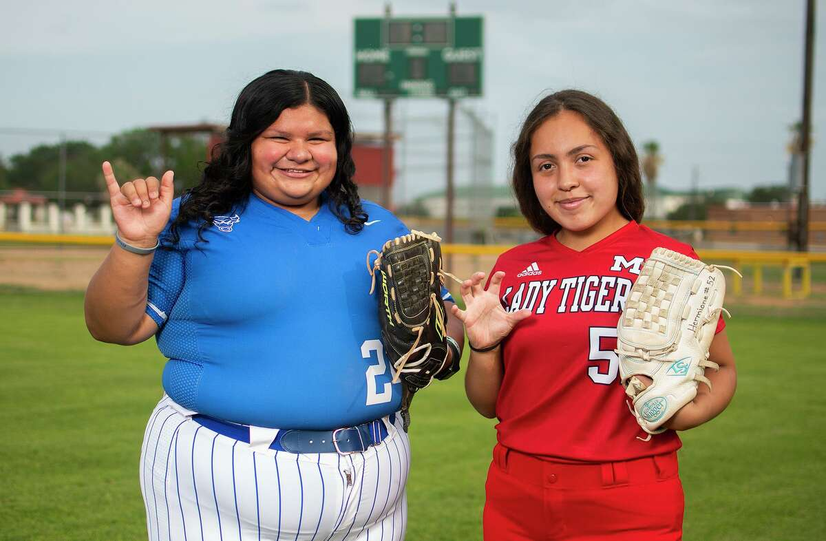 Cigarroa's Isareli Contreras and Martin's Hermione Garcia were two of Laredo's three first-team selections in the District 30-5A awards.
