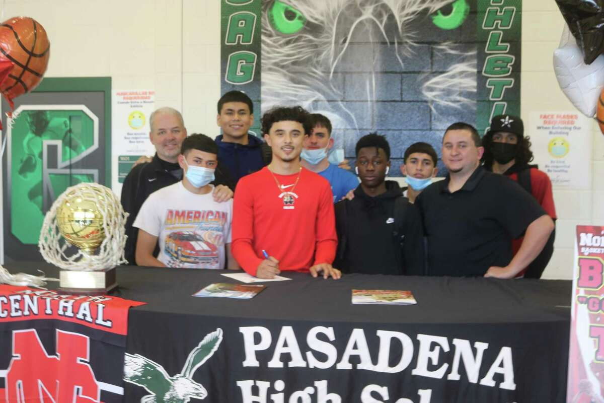 With his coaches and fellow teammates on hand for the big moment, Benito Tello formally signed with North Central College this past Friday.