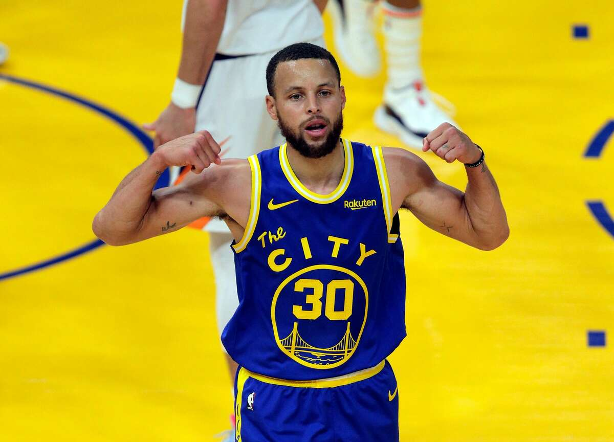 Stephen Curry and the Warriors will face the Grizzlies at 12:30 p.m. Sunday. (ESPN, NBCSBA)