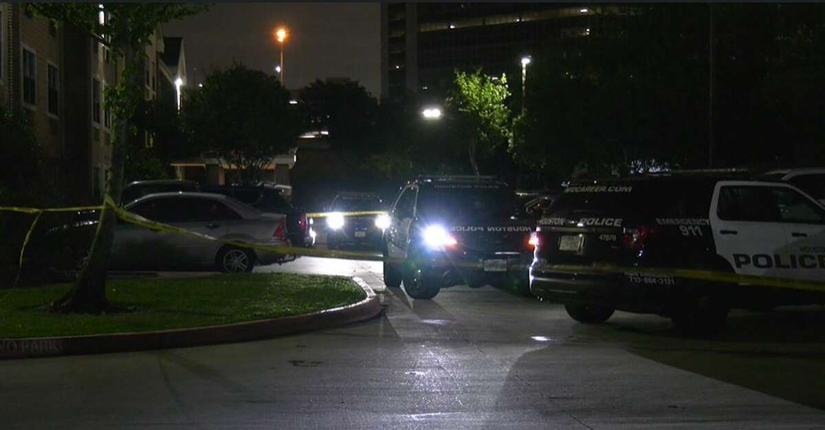 Police investigating a homicide early Wednesday at a Westchase hotel.