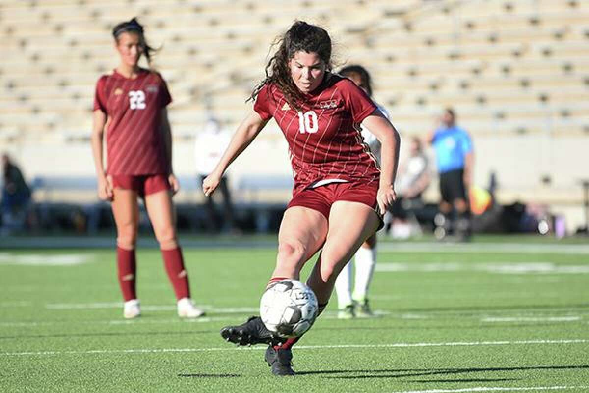Cypress Woods High School senior Reagan Bourgeois was voted District 16-6A's Most Valuable Player.