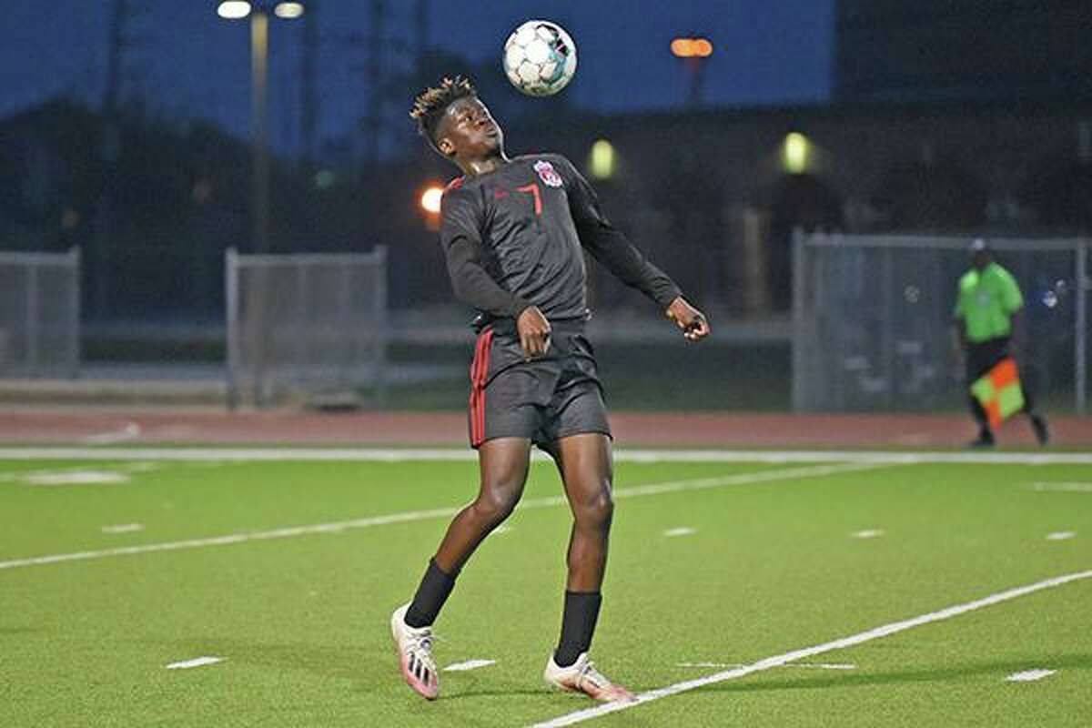 Langham Creek High School sophomore Ryan Okerayi was named District 16-6A's Offensive Player of the Year.