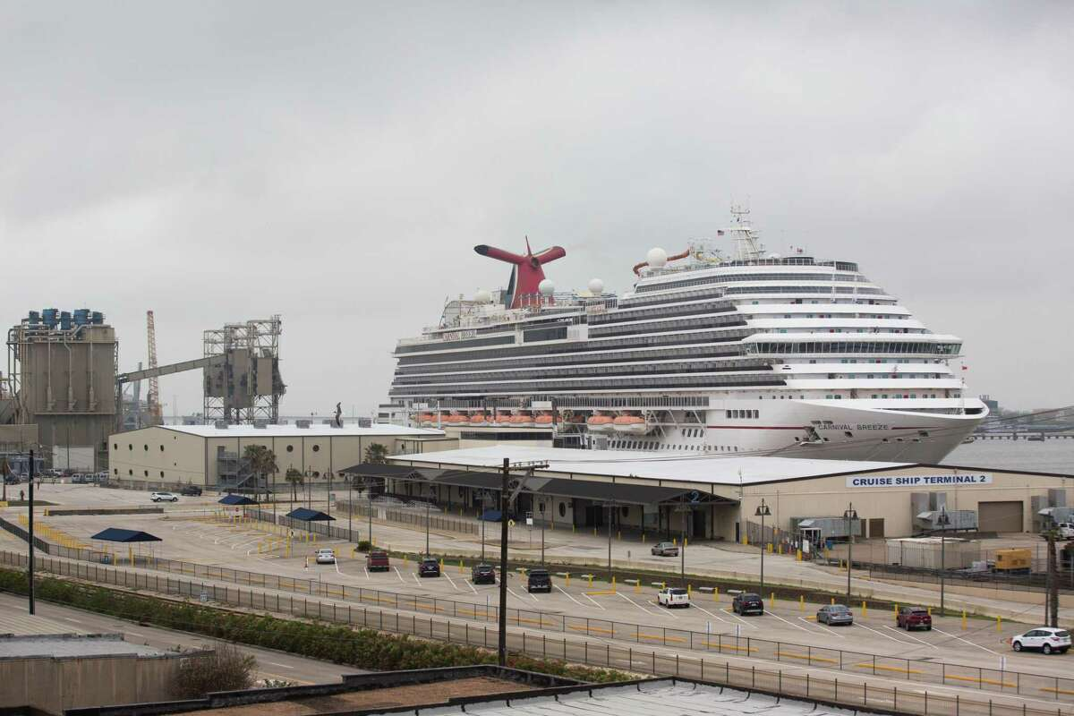 Carnival Cruise Breeze arrives May 3 in Galveston. Cruises account for 65 percent of the port's revenues.