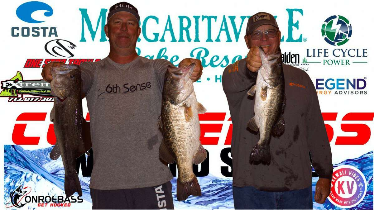 David Bozarth and Russell Cecil won the CONROEBASS Tuesday Tournament with a total weight of 13.39 pounds.