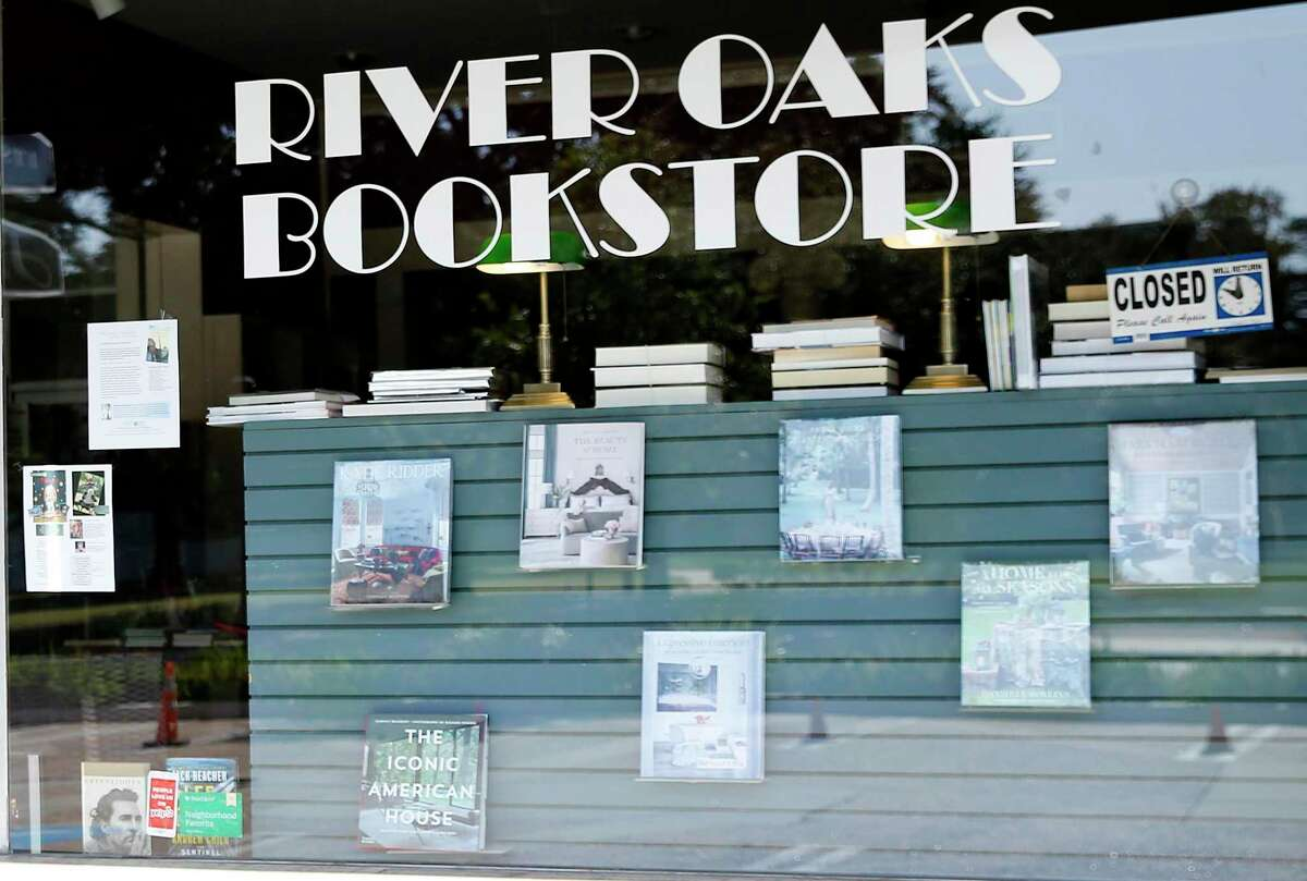River Oaks Bookstore in Houston on Sunday, Nov. 15, 2020. After nearly forty-seven years, the locally-owned store closed last year.