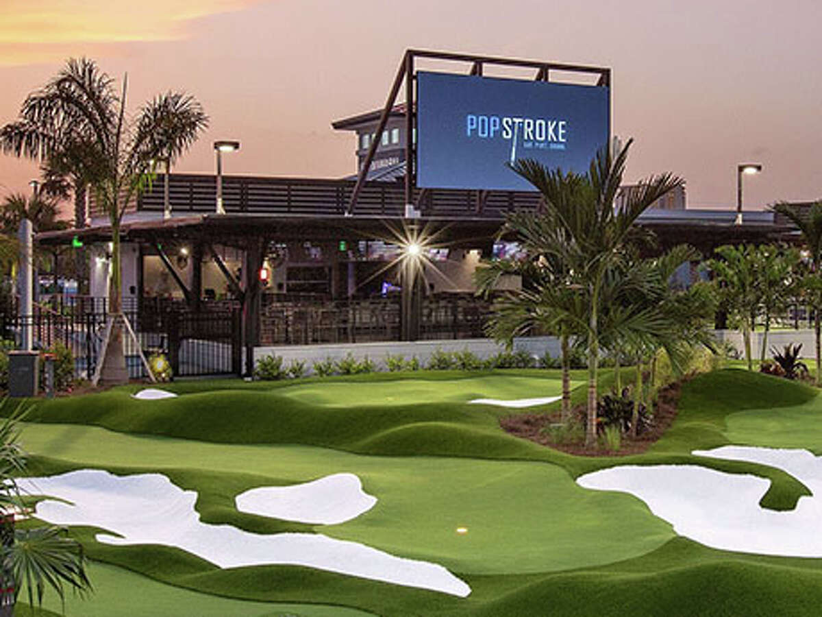 PopStroke Golf's new facility at Katy Grand in Houston is scheduled to open in summer 2022.