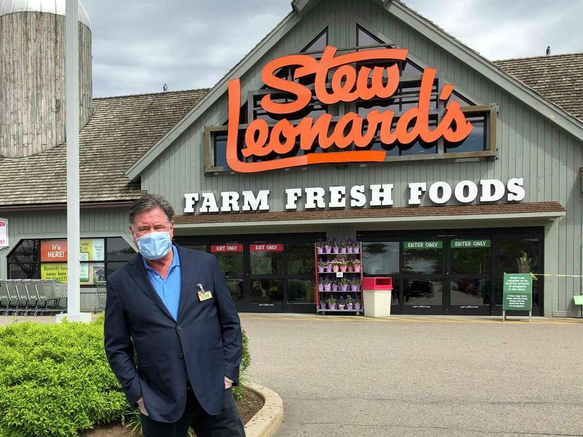 Stew Leonard Jr., CEO of Stew Leonard's grocery stores has been friends with Martha Stewart since 1971.