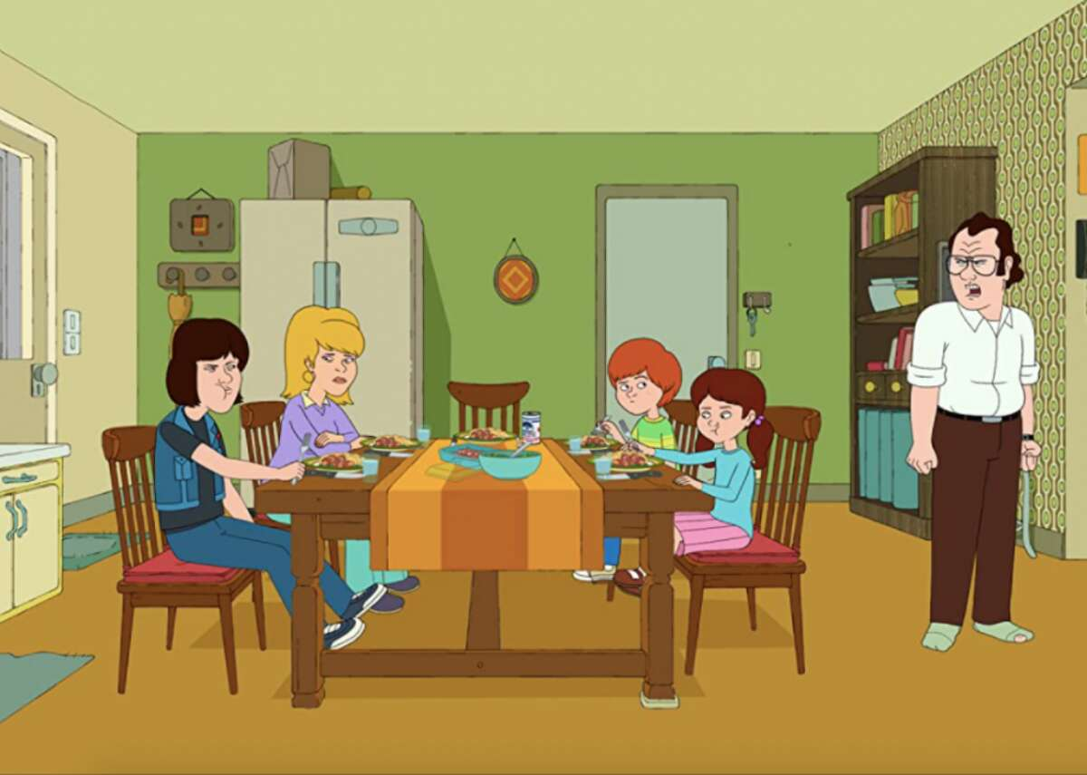 """#100. F Is for Family - IMDb user rating: 8 - Years on the air: 2015-present In spite of its throwback style of animation and complete disregard for political correctness, Netflix's """"F is for Family"""" manages to tackle some pretty heavy topics, including toxic masculinity and quiet racism. Set in a fictional Pennsylvania town in the '70s, the series follows the daily lives of the Murphy family, who are voiced by actors like Bill Burr, Laura Dern, Justin Long, and Debi Derryberry, as well as their various friends and neighbors."""