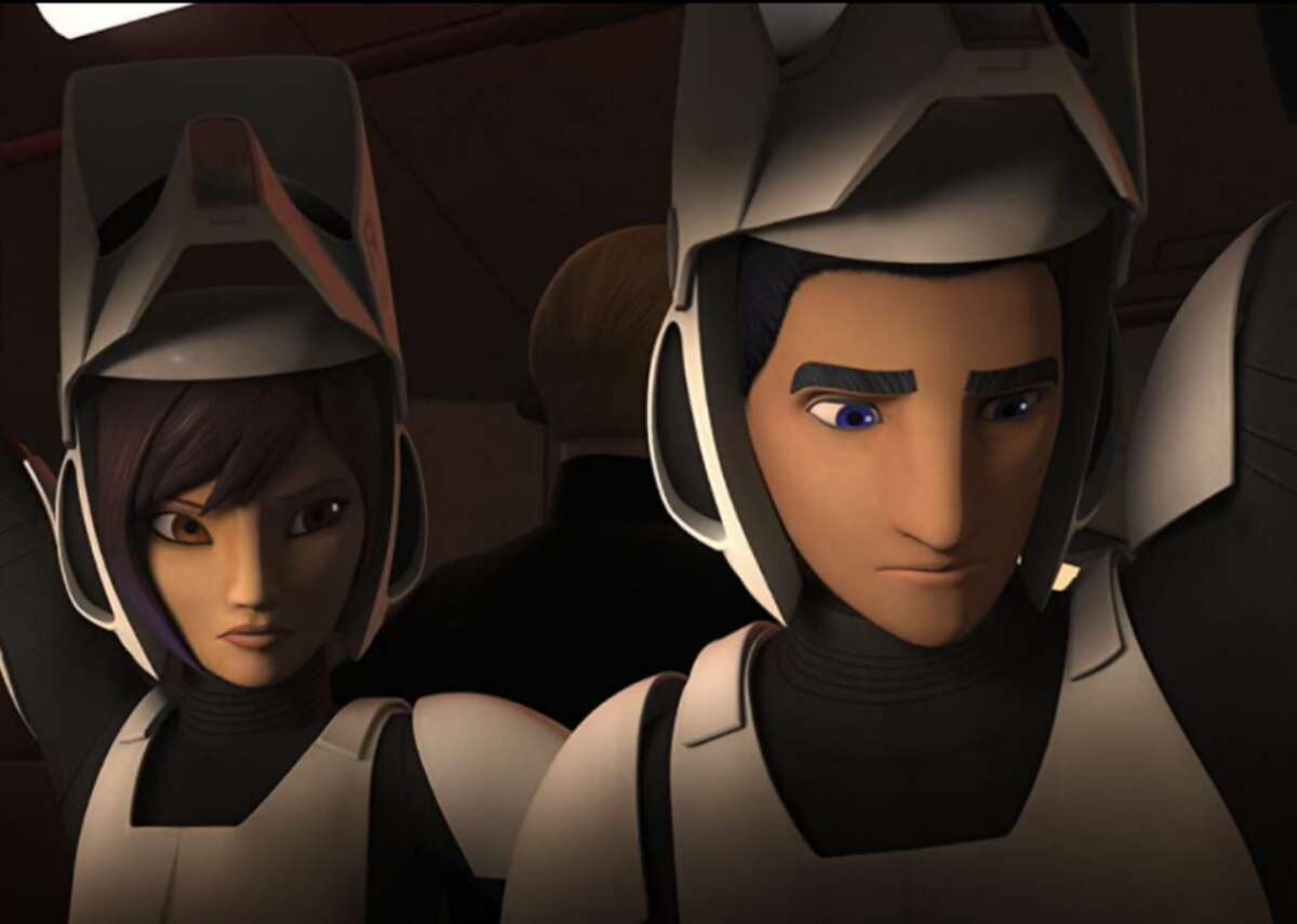 """#99. Star Wars Rebels - IMDb user rating: 8 - Years on the air: 2014-2018 A long time ago, in a galaxy far, far away, a fledgling Rebellion began to emerge, fighting back against the Galactic Empire and ending its mission to hunt down every last Jedi. """"Star Wars Rebels"""" is set five years before """"A New Hope,"""" and brings new and existing characters together in a mix of half-hour TV shows and longer TV movies. Praised by critics for the way it expanded George Lucas' universe and mythology as well as its storylines and voice acting, the series can be streamed on Disney+."""