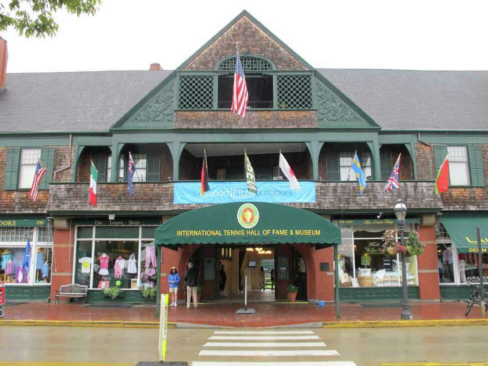 International Tennis Hall of Fame, Newport, R.I. (Alexandra Schuman)