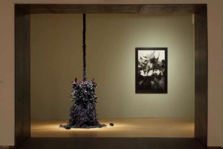 """Petah Coyne: Everything that Rises Must Converge"" on display from May 2010 through February at Mass MoCA in North Adams, Mass. / Arthur Evans"