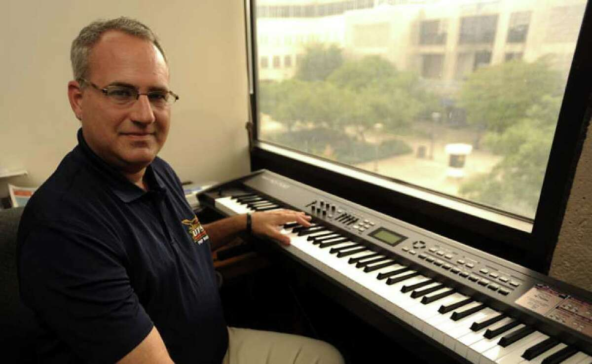 Ron Ellis will field a 150-member marching band and color guard for UTSA's first-ever home football game on Sept. 3, 2011.