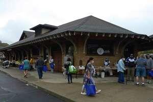 CityCenter Danbury Farmer's Market at the Danbury Railway Museum last October.