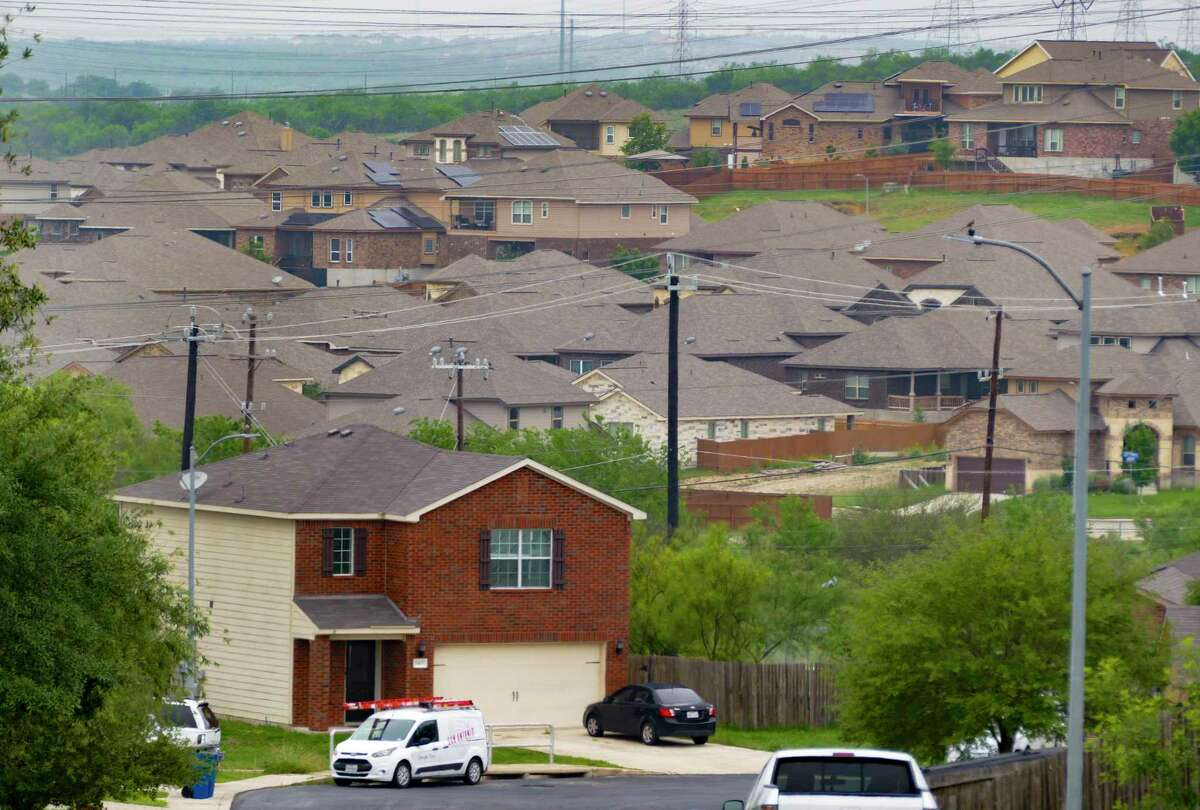 Firms often use algorithms to identify homes to buy, focusing on cities such as San Antonio, including the Canyon Crossing neighborhood, with low home prices and growing populations, experts say.