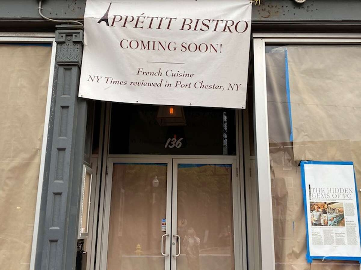 Appetit Bistro is opening at 136 Washington St. in Norwalk summer 2021. The French restaurant, which has been in business in Port Chester, N.Y., for six years, is opening its second location in Norwalk this summer.