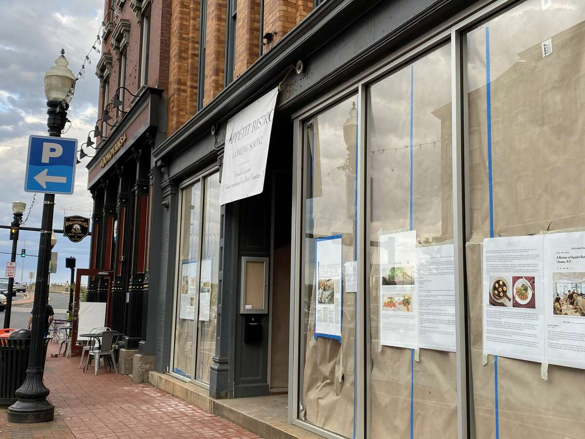 Appetit Bistro is opening at 136 Washington St. in Norwalk summer 2021.