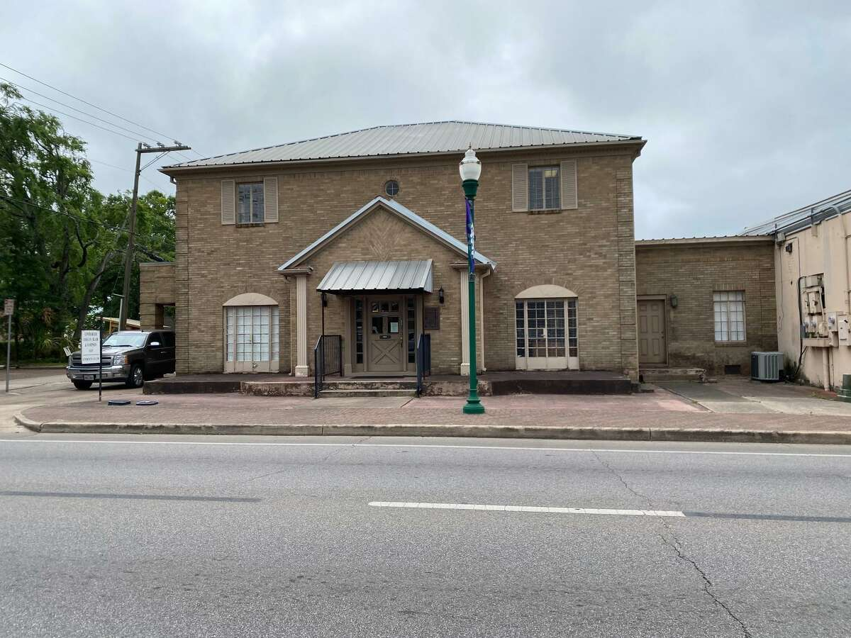 The former Wahrenberger Funeral Home is pictured on Phillips Street in downtown Conroe. It is a part of a Historical Resources Survey being done by Frank and Merlynn Hersom.
