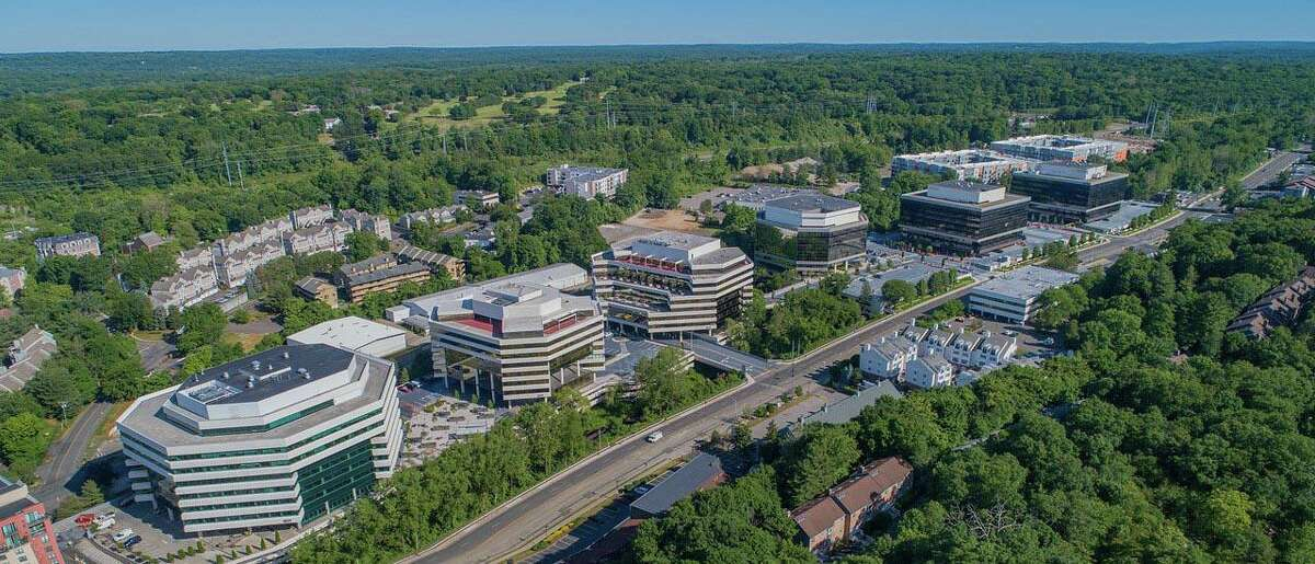 The six-building Merritt 7 complex, covering about 1.4 million square feet in Norwalk, comprises the largest office park in Fairfield County.