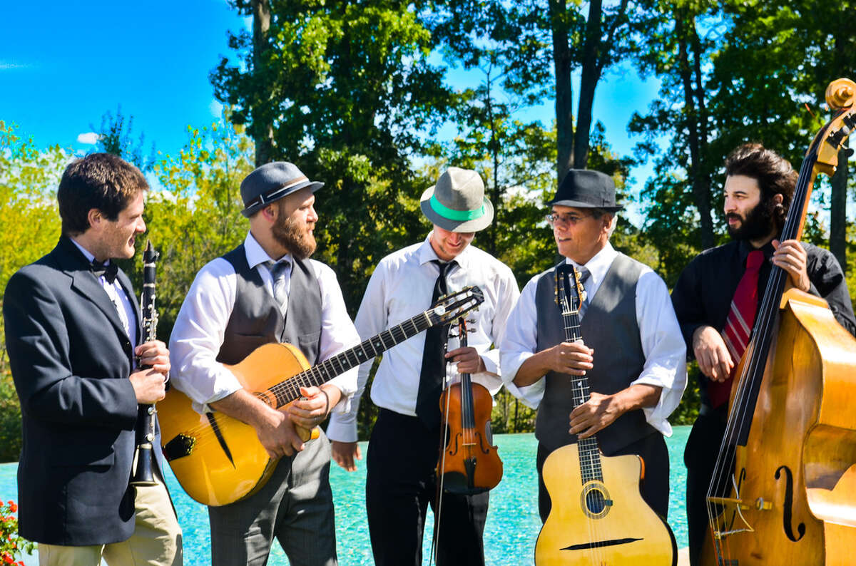 Local artists, Hot Club of Saratoga will be performing on Saturday, June 26, 2021, at the Freihofer's Saratoga Jazz Festival.