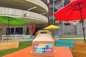 Picnic in the Plaza will take place on New Haven's Temple Plaza this season.