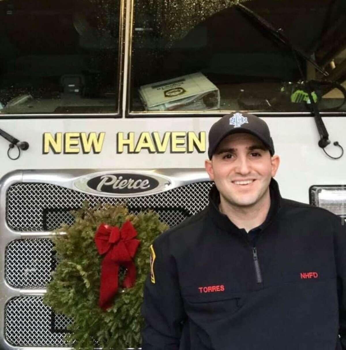 Firefighter Ricardo Torres