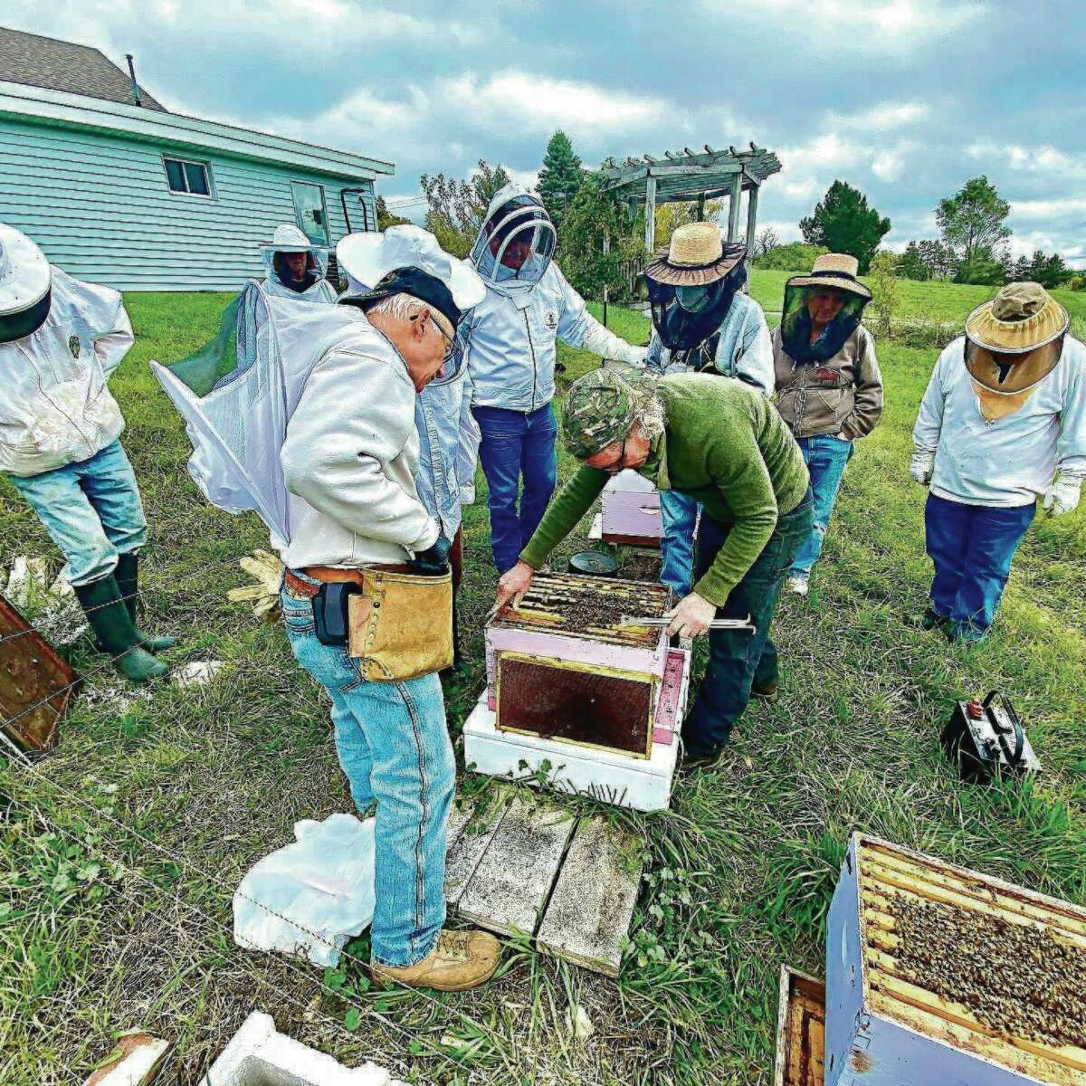 TheBenzie Area Beekeepers Guild meets at Grow Benzie, just one of the many organizations who use the facility for meetings and activities. (Courtesy photo)