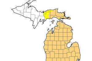 Manistee County and the rest of the Lower Peninsula have been in a state of moderate drought for several weeks, according to U.S. Drought Monitor maps.