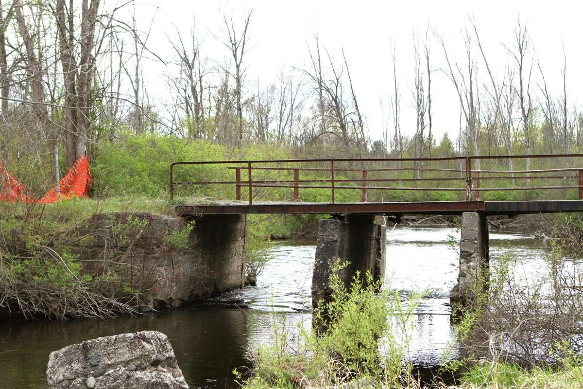 The Altona dam project was put at the top of the Muskegon River Watershed Authority's list because it is currently failing. (Pioneer photo/Olivia Fellows)