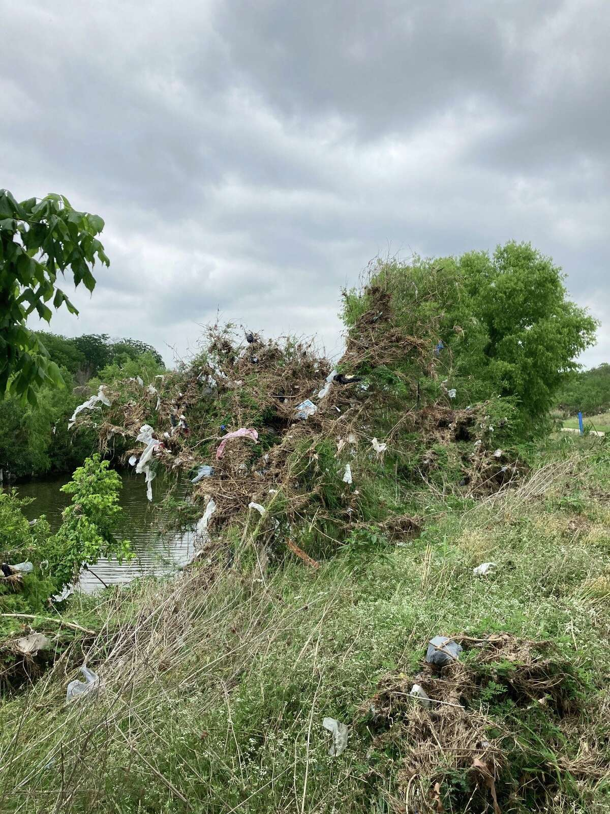 In the past two days (not including Wednesday), around 60 staff members and contractors with the San Antonio River Authority (SARA) have picked up more than 17,000 pounds of trash along the San Antonio River Basin, specifically in the Mission Reach area that extends south of the downtown section.