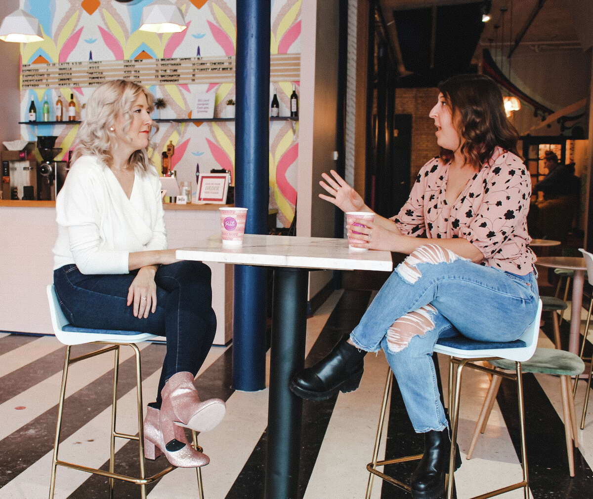 Becky Daniels and Gabby Fisher are the founders of Capital Heart Connection, a new event series designed to foster a vibrant, diverse and inclusive community of people looking for love.