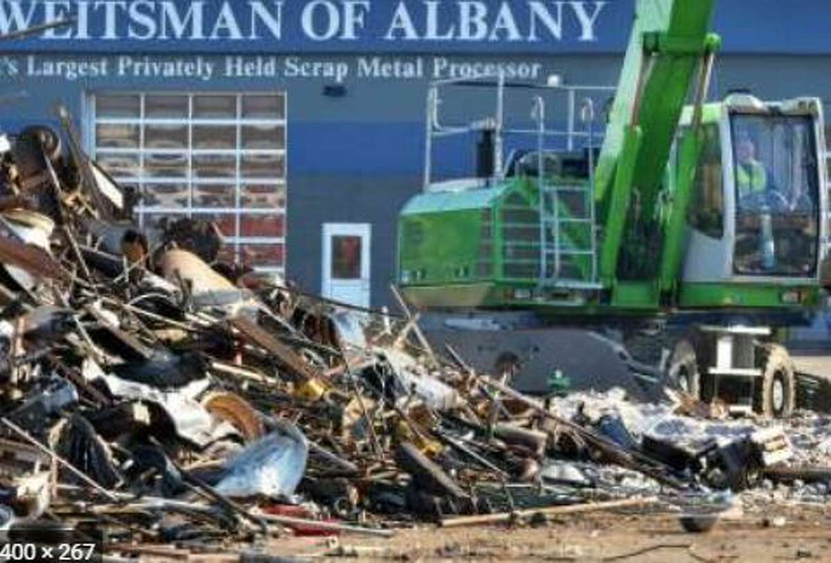 The Sierra Club is taking Ben Weitsman scrap metal - located at 300 Smith Blvd, Albany - to court, claiming the business hasn't sufficiently protected against stormwater runoff. (Times Union Archive)