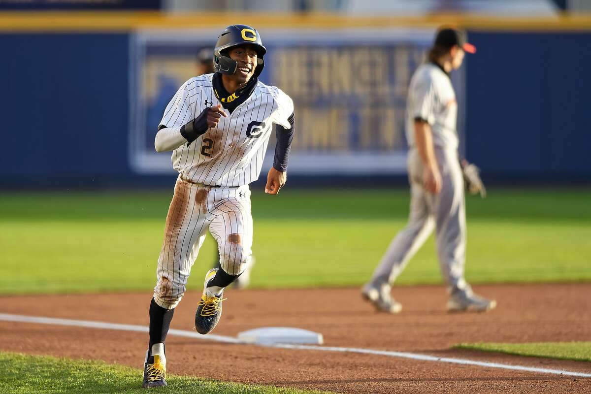 Darren Baker leads Cal with a .333 batting average and is second in the Pac-12 in stolen bases with 24.