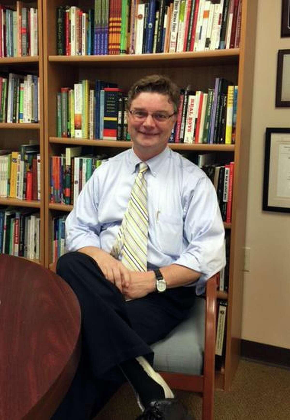Dr. Thomas McMorran, interim superintendent for Easton, Redding and Region 9 schools.