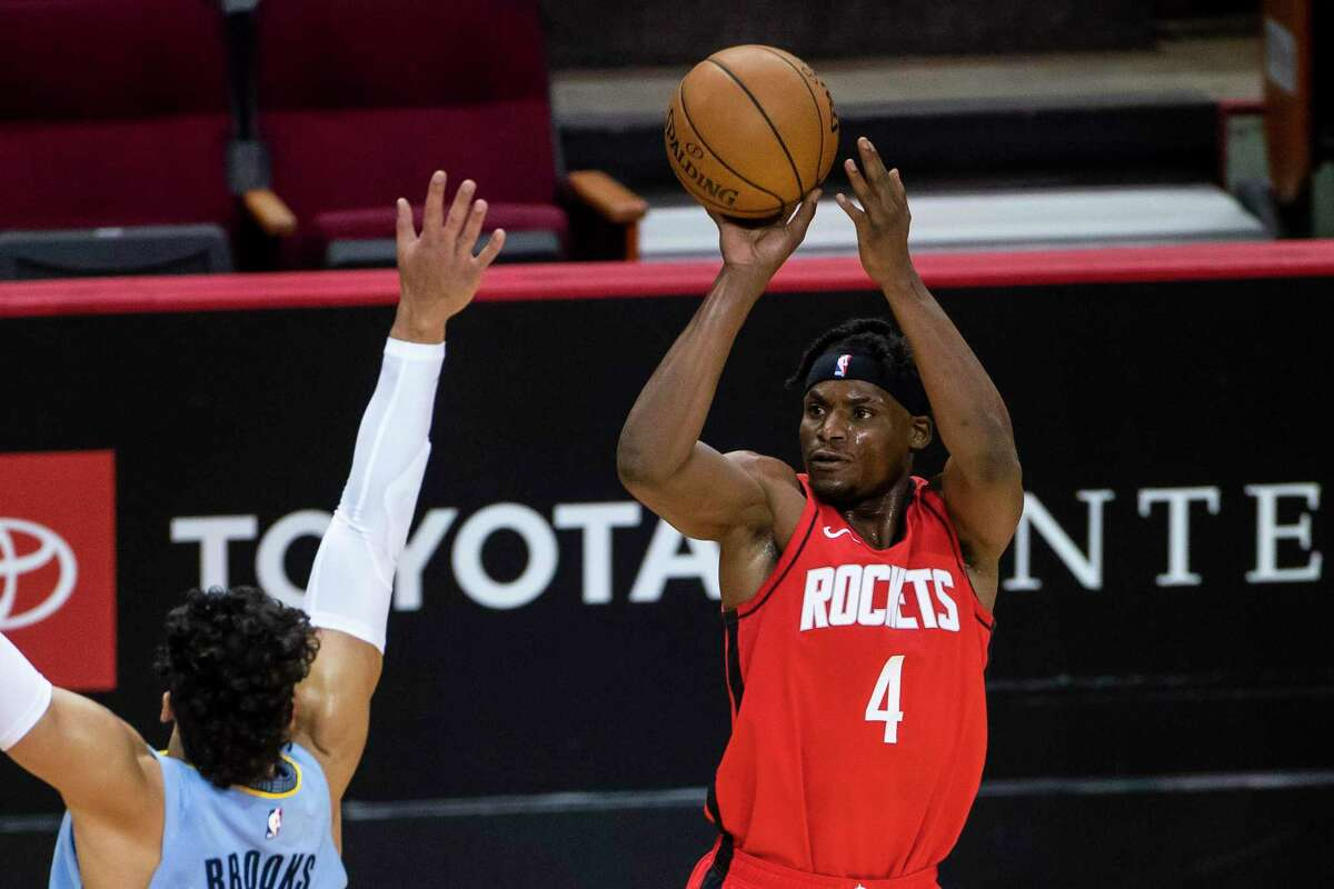 Danuel House has been asked to do more than just shoot from the outside this season as Rockets looked for ways to fill in because of injuries.