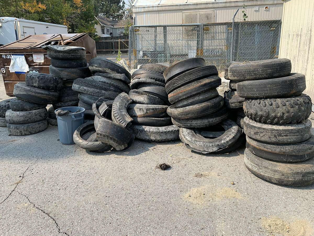 Cleanup groups for found dozens of car tires on the bottom of Lake Tahoe.