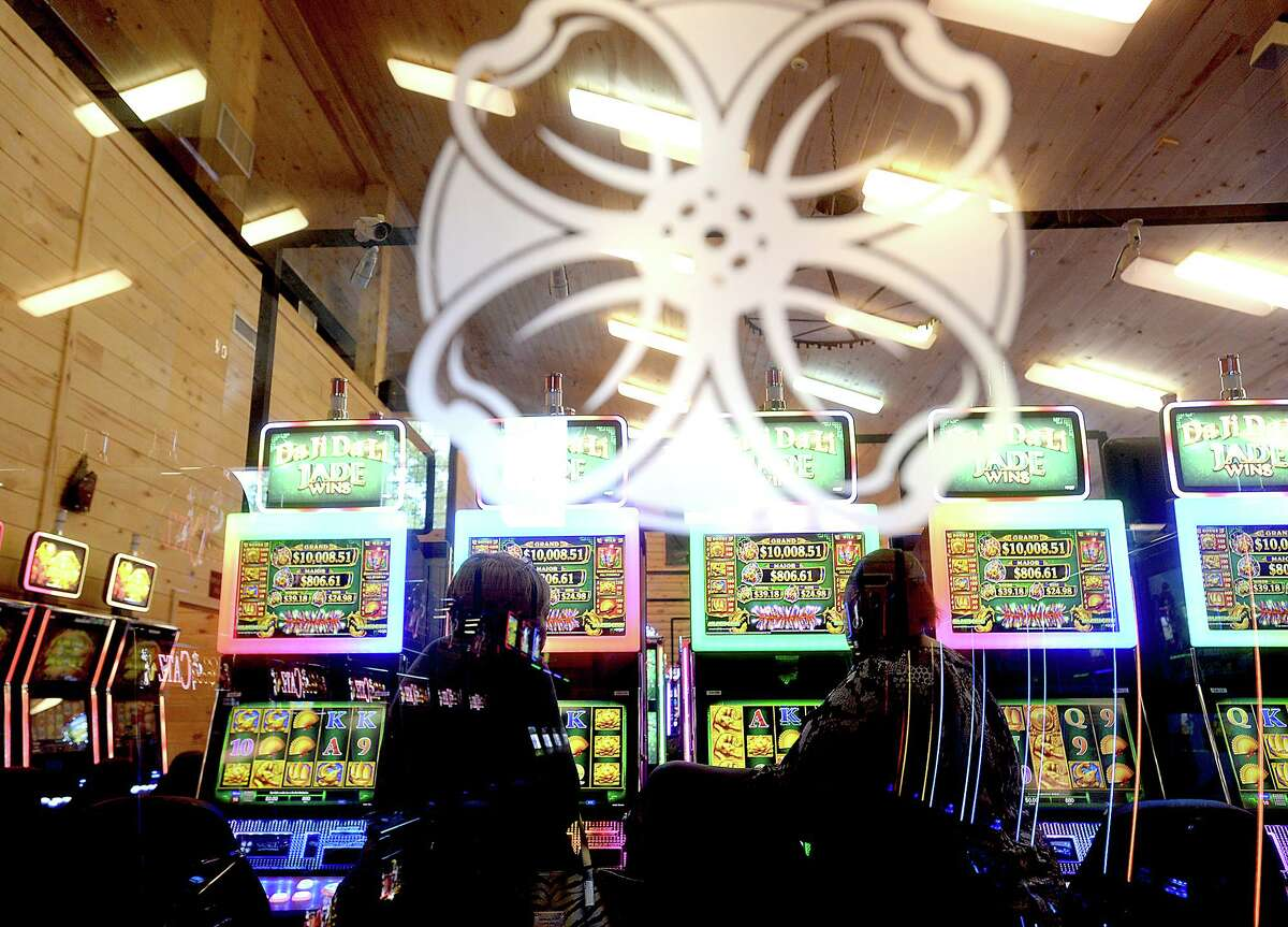 The machines are up and running, with players already arriving to enjoy the newly re-opened Naskila Entertainment bingo hall on the grounds of the Alabama-Coushatta Tribe's reservation Tuesday. The official opening of the venue is June 2, but word of mouth had already attracted guests to the soft opening. The bingo hall has been closed for 13 years, and the Attorney General declined to comment on whether he will seek to once again close the establishment. Photo taken Tuesday, May 17, 2016 Kim Brent/The Enterprise