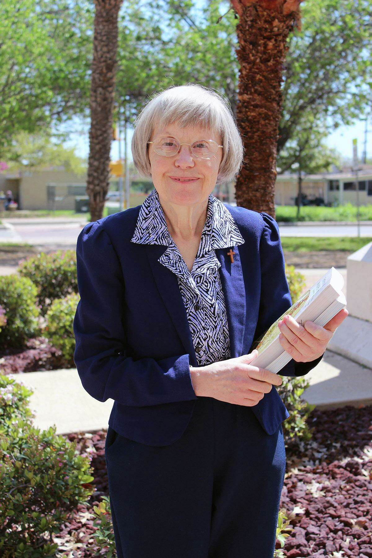 Sister Margit Nagy, a member of the Congregation of Divine Providence, is the last Catholic nun to teach full-time at Our Lady of the Lake University.