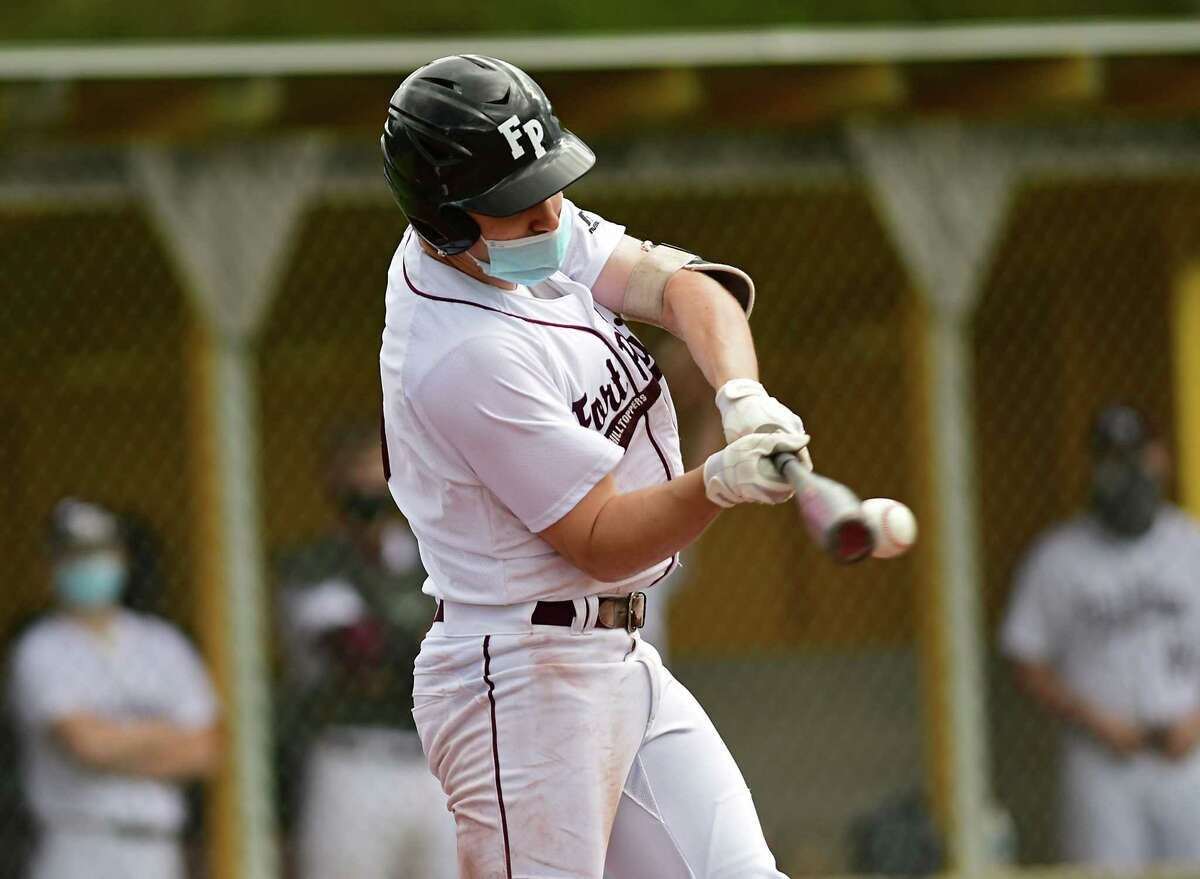 Fort Plain baseball player Troy Butler had a .712 on-base percentage in his senior season, and a 1.091 slugging percentage.