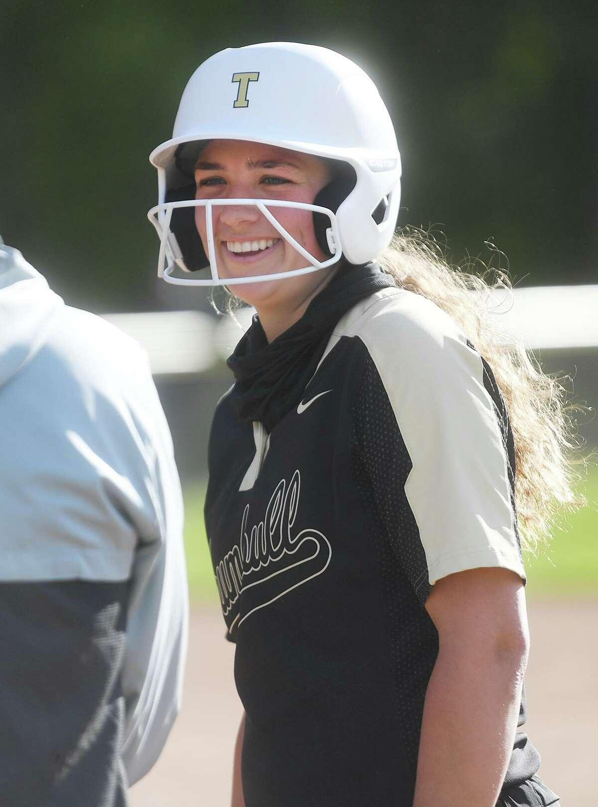 St. Joseph v. Trumbull softball at St. Joseph High School in Trumbull, Conn. on Wednesday, May 12, 2021.