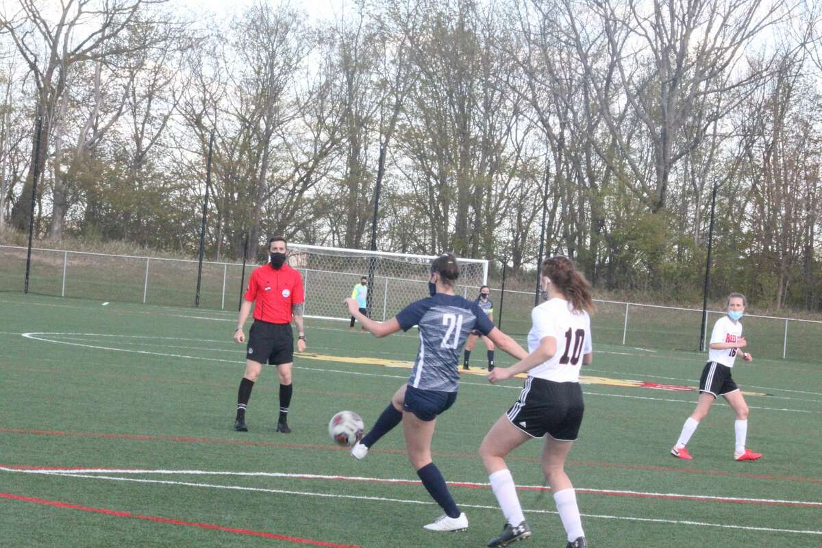 Big Rapids' soccer team blanked Reed City 4-0 in CSAA action on Wednesday.