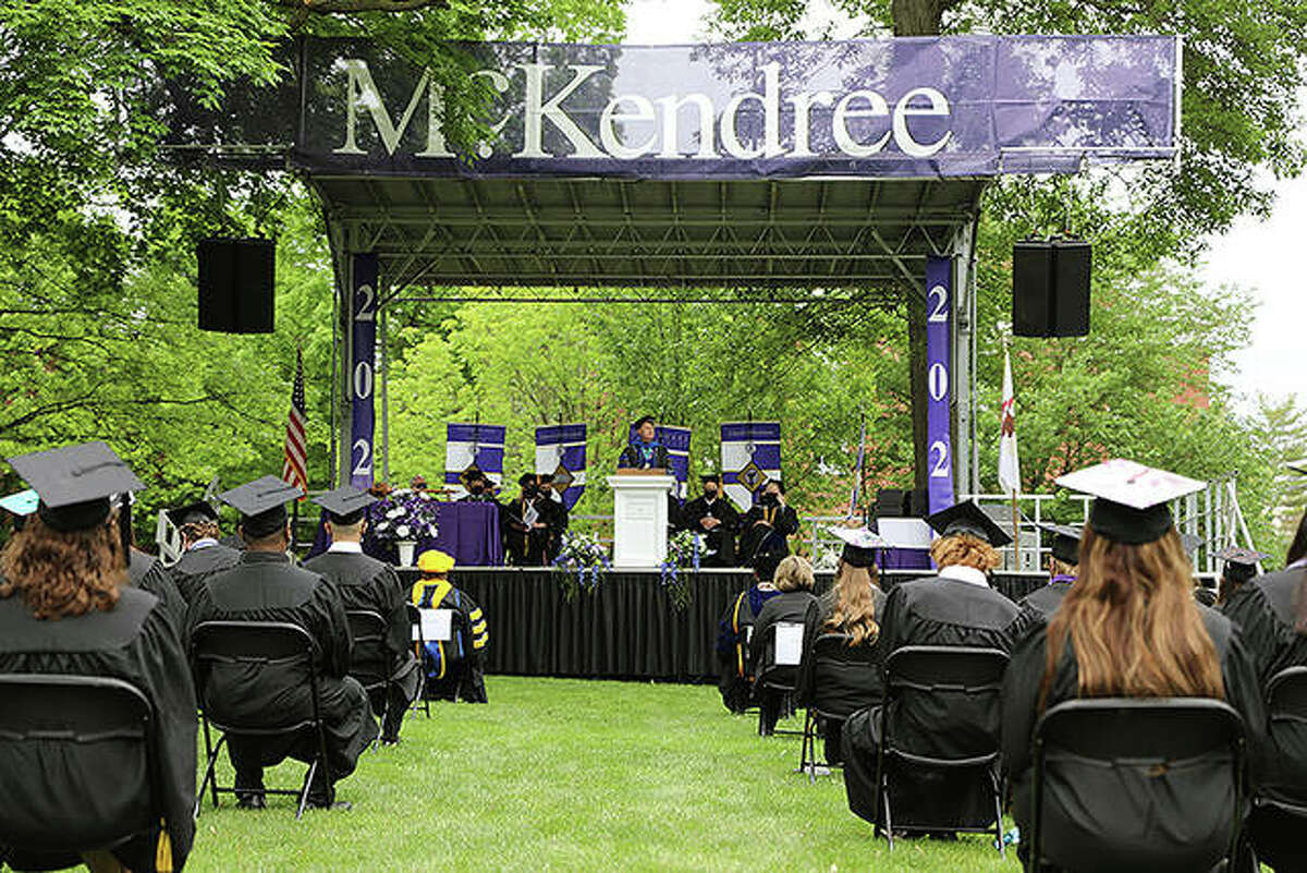 McKendree University graduates included students from 29 states and 15 countries.