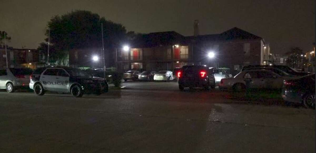 Two teenagers were shot, including a 17-year-old who died, early Thursday morning in a reported home invasion in a southeast Houston apartment, according to police.