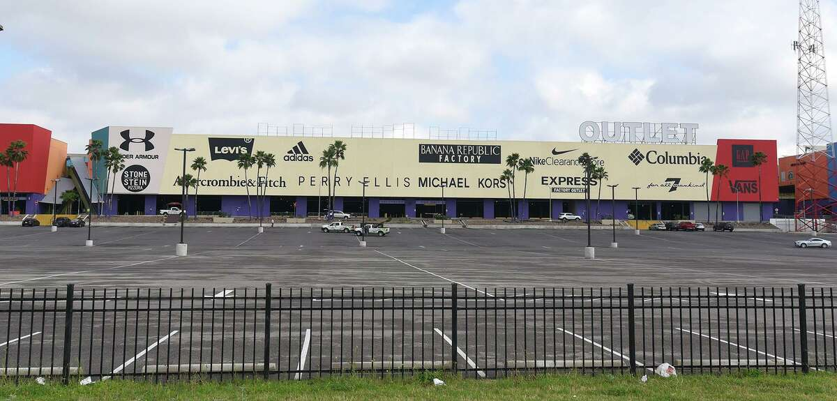 The Outlet Shoppes at Laredo show signs of a minimal amount of shoppers, Wednesday, Mar. 18, 2020 on the eve of a city wide lock down due to the COVID-19 Coronavirus.
