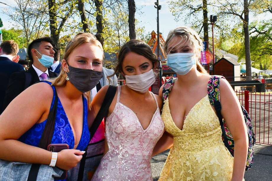 Milford's Jonathan Law High School held it senior prom at Quassy Amusement Park on May 12, 2021. Were you SEEN? Photo: Vic Eng / Hearst Connecticut Media Group