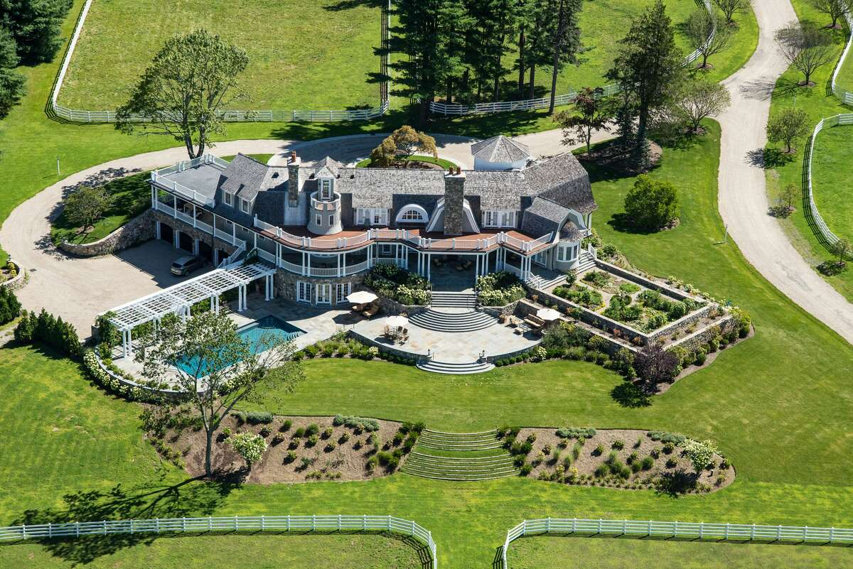 429 Taconic Road in Greenwich is on the market for $14.75 million.