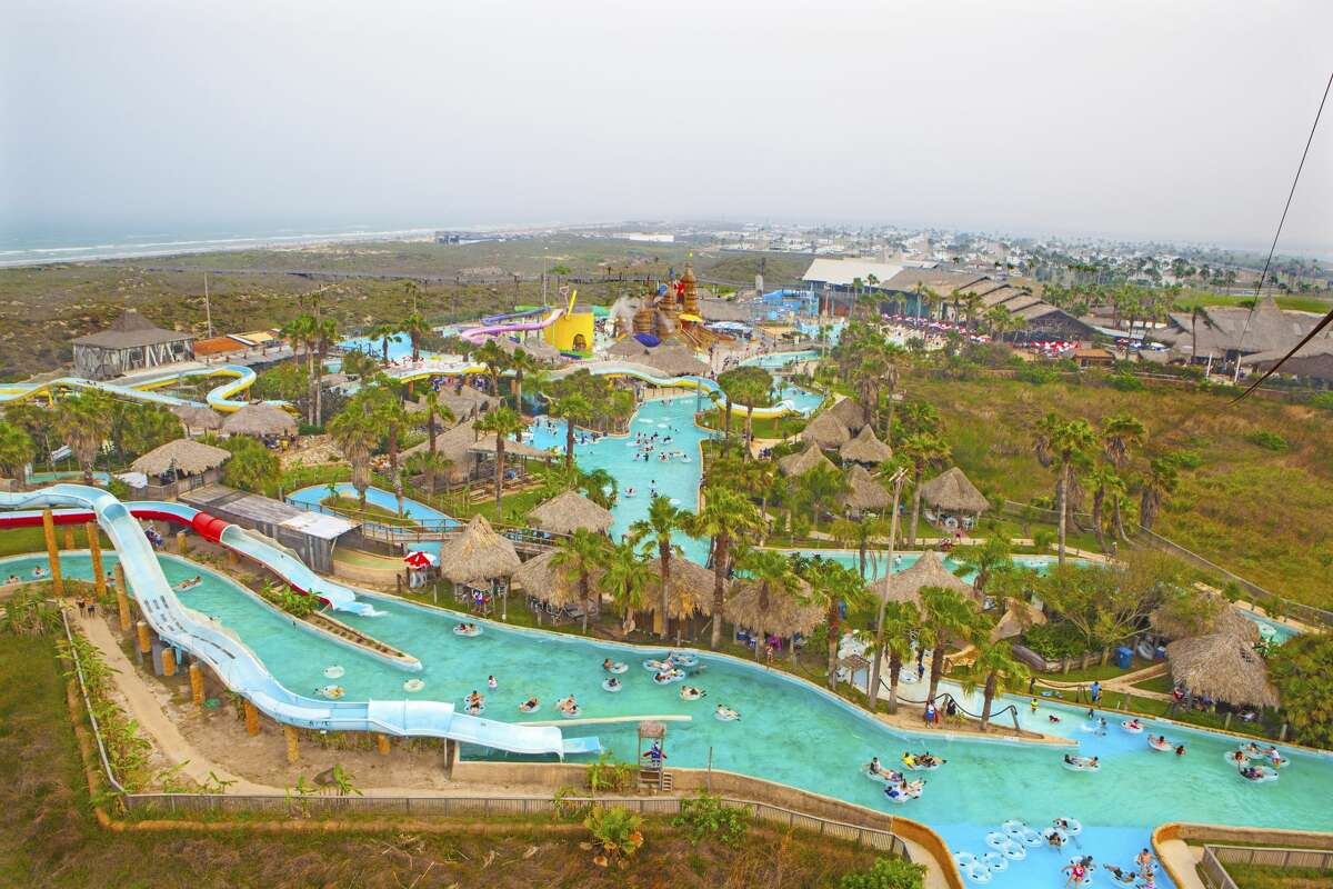 Beach Park At Isla Blanca splashes back into action on Friday, May 21, after being closed for more than a year due to the coronavirus pandemic.