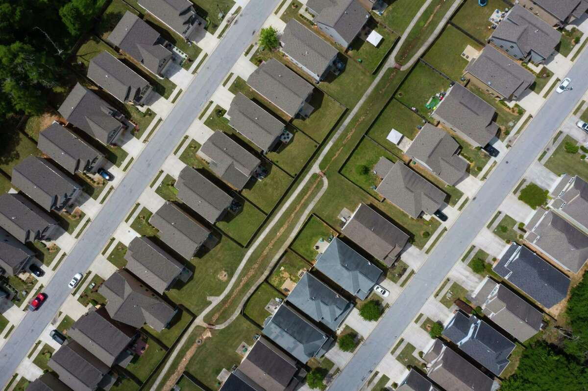 Residential homes in Lithonia, Ga., on April 27, 2021.