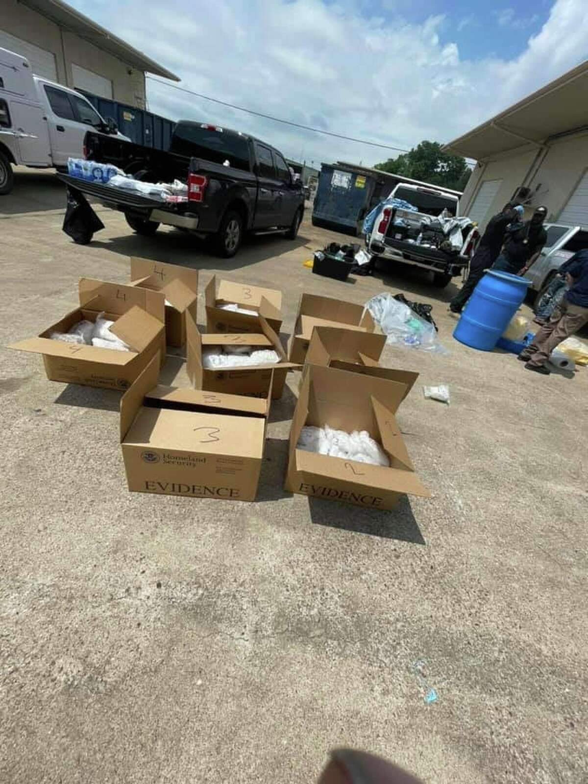 More than $3 million in methamphetamine was seized by deputies, authorities announced Thursday.