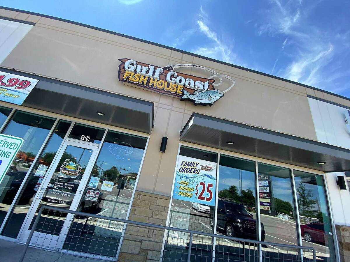 Seafood specialties at Gulf Coast Fish House on Southeast Military Parkway on the South Side include po'boy sandwiches.