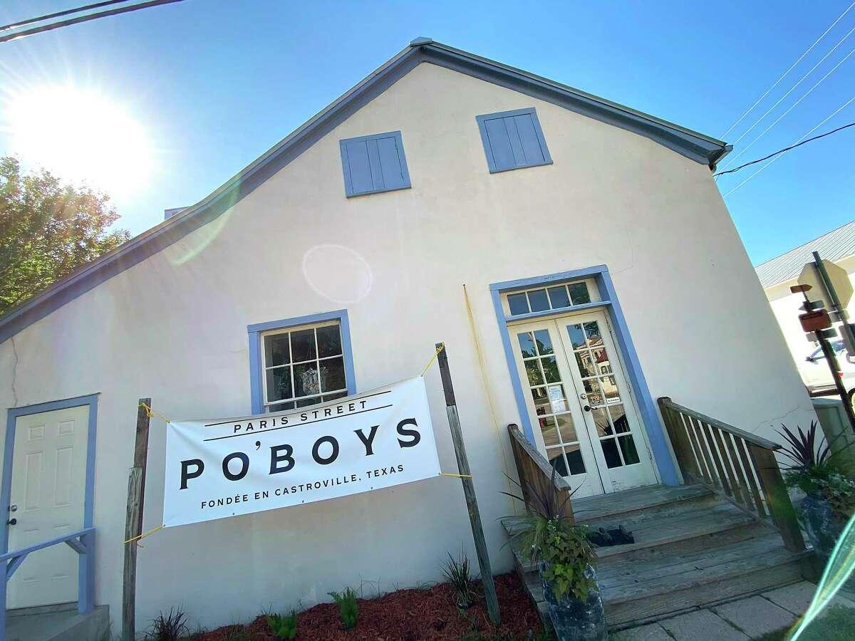 Paris St. Po'Boys opened in April in Castroville.